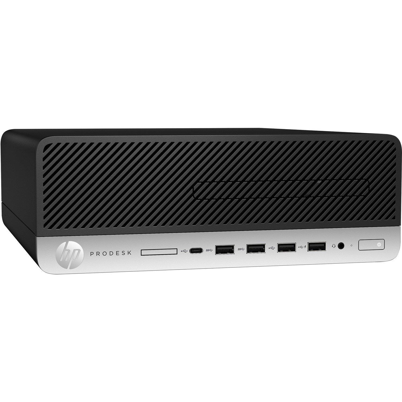 HP Business Desktop ProDesk 600 G3 Desktop Computer Bundle