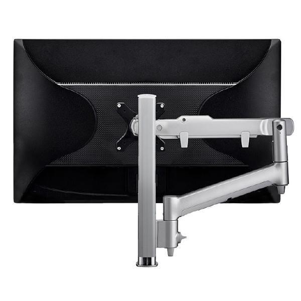 Atdec Awm Single Monitor Arm Solution - Dynamic Arm - 400MM Post - Grommet Clamp - White