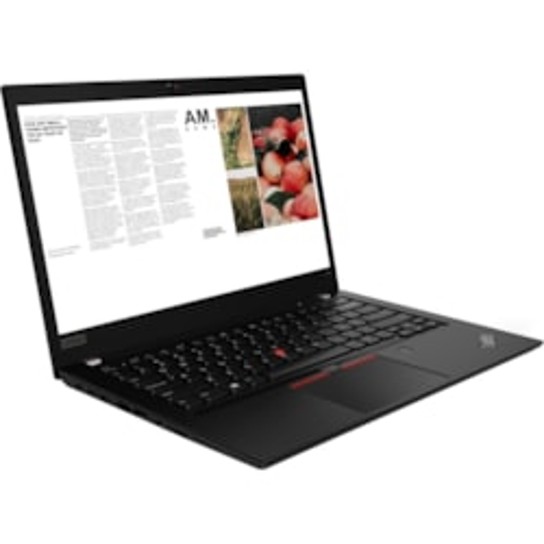 Lenovo ThinkPad T490, screen with camera and headset WFH bundle (remote setup)