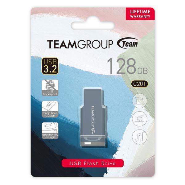 Team C201 Usb3.2 Morandi Color Flash Drive 128GB