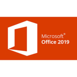 Microsoft Office 2019 Home & Business for Windows 10, Mac OS - Licence - 1 Device - Medialess