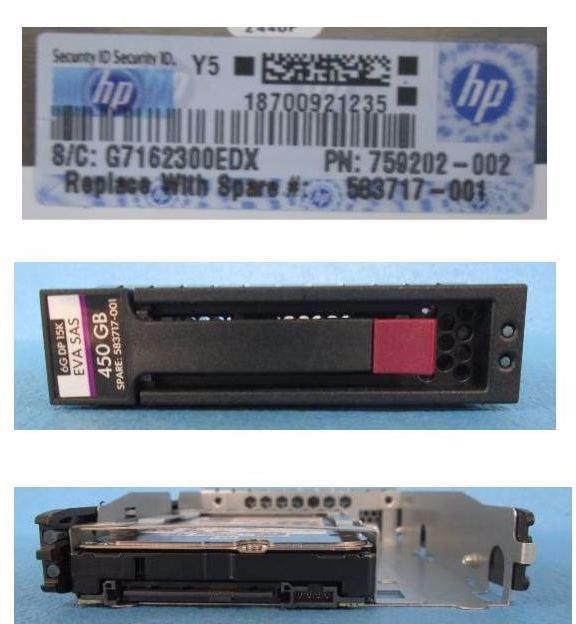 "HPE 450 GB Hard Drive - 3.5"" Internal - SAS (6Gb/s SAS)"