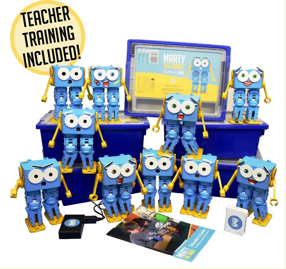 Marty the Robot 10 Pack EDU - Assembled