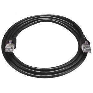 Cabac Hypertec 5M Cat6 RJ45 Lan Ethernet Network Black Patch Lead
