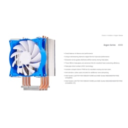Silverstone Ar08 92MM PWM 3 Heatpipe Cpu Cooler, Compatible 2011, 2066, 1150, 1151, 1155, FM2, Am4. Height 134MM. 26.8 - 49.5 CFM
