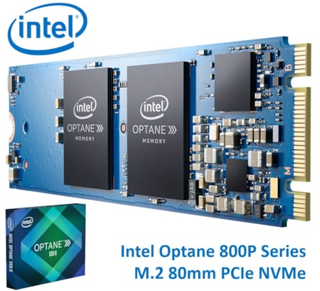 Intel Optane 60 GB Solid State Drive - PCI Express (PCI Express 3.0) - Internal - M.2 2280