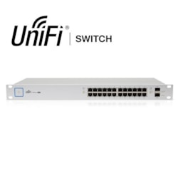Ubiquiti UniFi 24-Port Managed PoE+ Gigabit Switch With SFP 250W