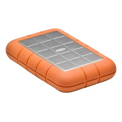 LaCie Rugged Triple 2 TB External Hard Drive - SATA - Portable