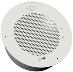 CyberData Syn-Apps Ceiling Mounted Speaker - Gray White