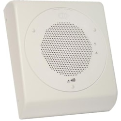 CyberData VoIP Wall Mount Adapter For Ceiling Speaker - Gray White