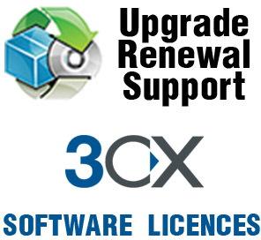 3CX Phone System 128SC 1 Year Maintenance