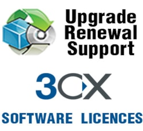 3CX Phone System 8SC 1 Year Maintenance
