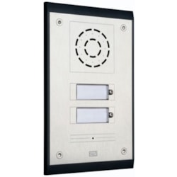 2N Ip Uni Ip Door Entry System Intercom With 2 Buttons, Ip54 Case, Box