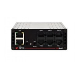 Epygi QX200 Ip PBX, 4X Fxo & 2X FXS, 24X Sip Ext. Expandable To 200, Line In/Out Ports, Lan/Wan