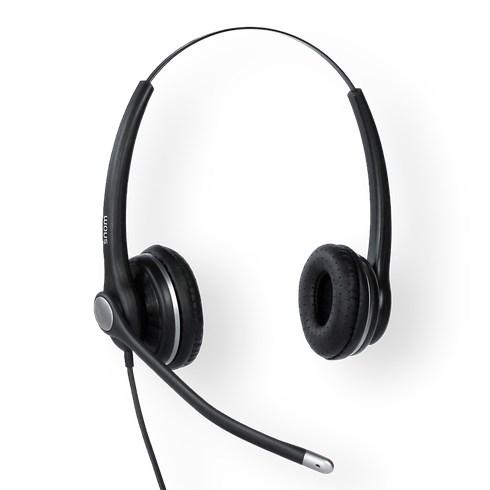 Snom Wideband Binaural Headset For Snom-D3xx/D7xx/7xx