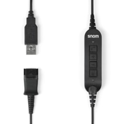 Snom Acusb Usb Adapter Cable For A100m / A100d Snom Headsets