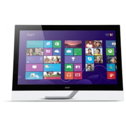 "Acer T272hul 27"" 10-Point Touch, 2560 X 1440, Vga+ HDMi+ DP + Usb, Vesa, Speaker, 3 Year WTY"