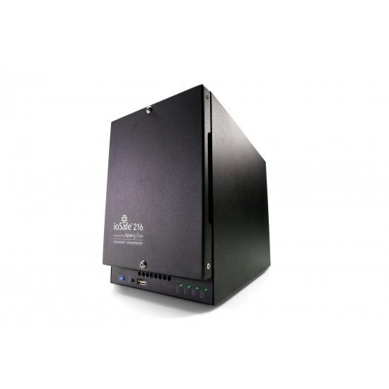 ioSafe 216 Nas - 2TB (1TBX2), WD Red HDD Fireproof Waterproof, 1YR Basic.