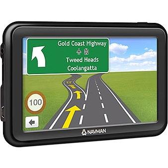 Navman MOVE MOVE85LM Automobile Portable GPS Navigator - Mountable, Portable