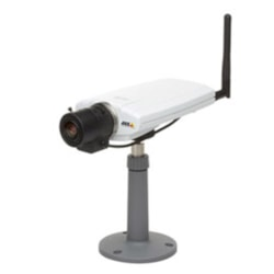 Axis 0270-006, 211W Ip Cam, Fixed 640X480P, Jpeg-Mpeg, 30FPS 0.75 Lux, Poe, Audio, W'less