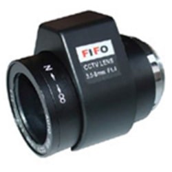 "Fifo Optics Lens Varifocal DC Auto Iris 3.5-8.0MM, 34.7-78.9 Deg, 1/3"" F1.4-360, CS Mount"