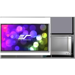"""Elite Screens 110"""" Fixed Frame 16:9 Projector Screen, Cinewhite, Sable Frame B2"""