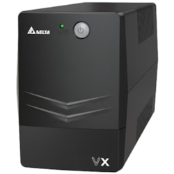 Delta VX Line Interactive 600Va/360W Mini Tower Ups, 2X Au Outlet, 10A Input Cord, Free Ups Management Software Download, 2Y Ar Warranty (Include Battery)