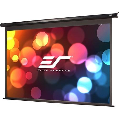 """Elite Screens 100"""" Motorised 16:9 Projector Screen, Tensioned Drop Cinetension2 (Long Leader)"""