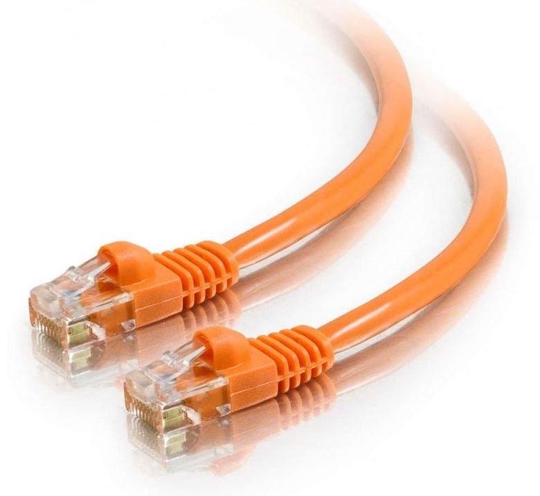 Astrotek Cat6 Cable 0.25M/25CM - Orange Color Premium RJ45 Ethernet Network Lan Utp Patch Cord 26Awg-Cca PVC Jacket