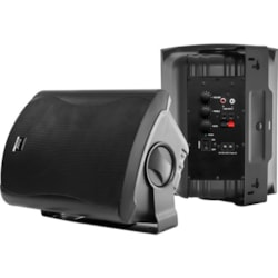 Wintal Class6aw, Black, Pair, 2-Way, 60W Class D Amp, In & Outdoor Active Speakers With Standby