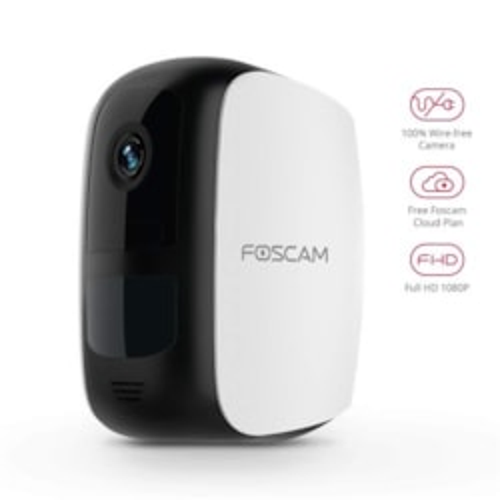 Foscam E1 1080P Wireless Battery Powered Camera System