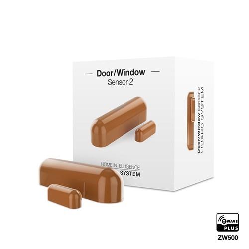 Fibaro Z-Wave Door Sensor Light Brown