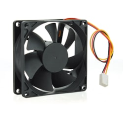 Aywun 80MM Silent Case Fan - Keeps Case And Component Cool. Small 3 Pin Connector. Bulk Pack. No Screw Included.