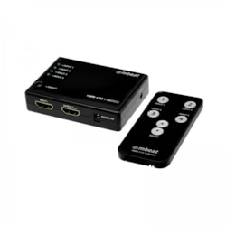 Mbeat Mini 4 Port Hdmi Switch With Power And Remote