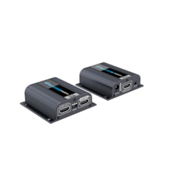 Lenkeng Hdmi Extender Over Single 60M Cat6 With Ir, Edid Management, Hdmi Loopout & Poe (Powered BY TX)