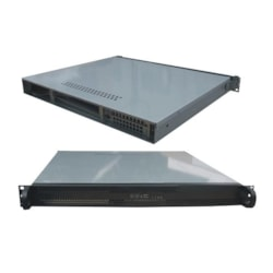 TGC Rack Mountable Server Chassis 1U 400MM Depth - No Psu