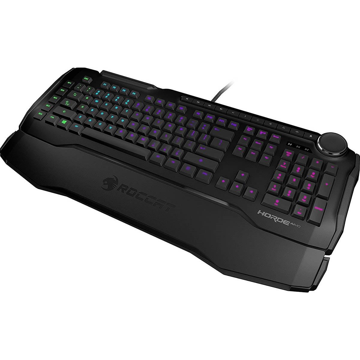 Roccat Horde Aimo Membrane 2.0 RGB Gaming Keyboard