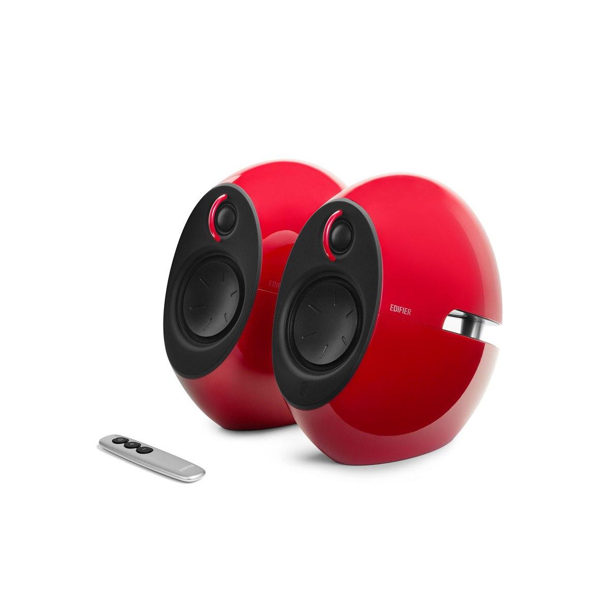 Edifier Luna HD E25hd Bluetooth Speakers W/ Optical In - Red