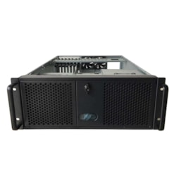 "TGC Rack Mountable Server Chassis 4U With 3 5.25' Slot, 4 HDD Bays, 1 Optional 2.5"" HDD Bay"