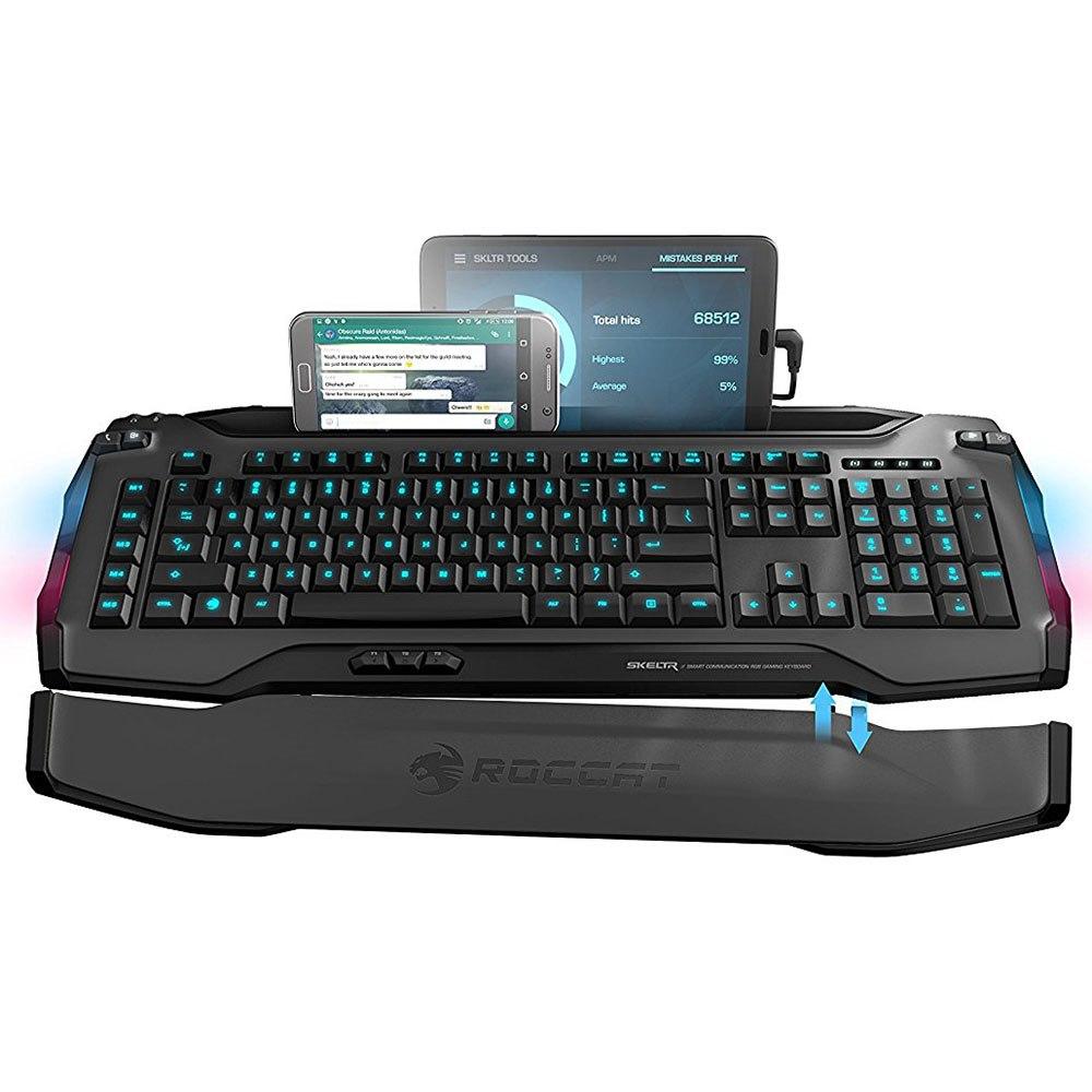 Roccat Skeltr Grey Smart Communication Gaming Keyboard