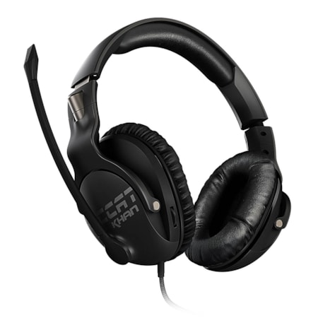 Roccat Khan Pro Competitive High Resolution Gaming Headset (Black Version)