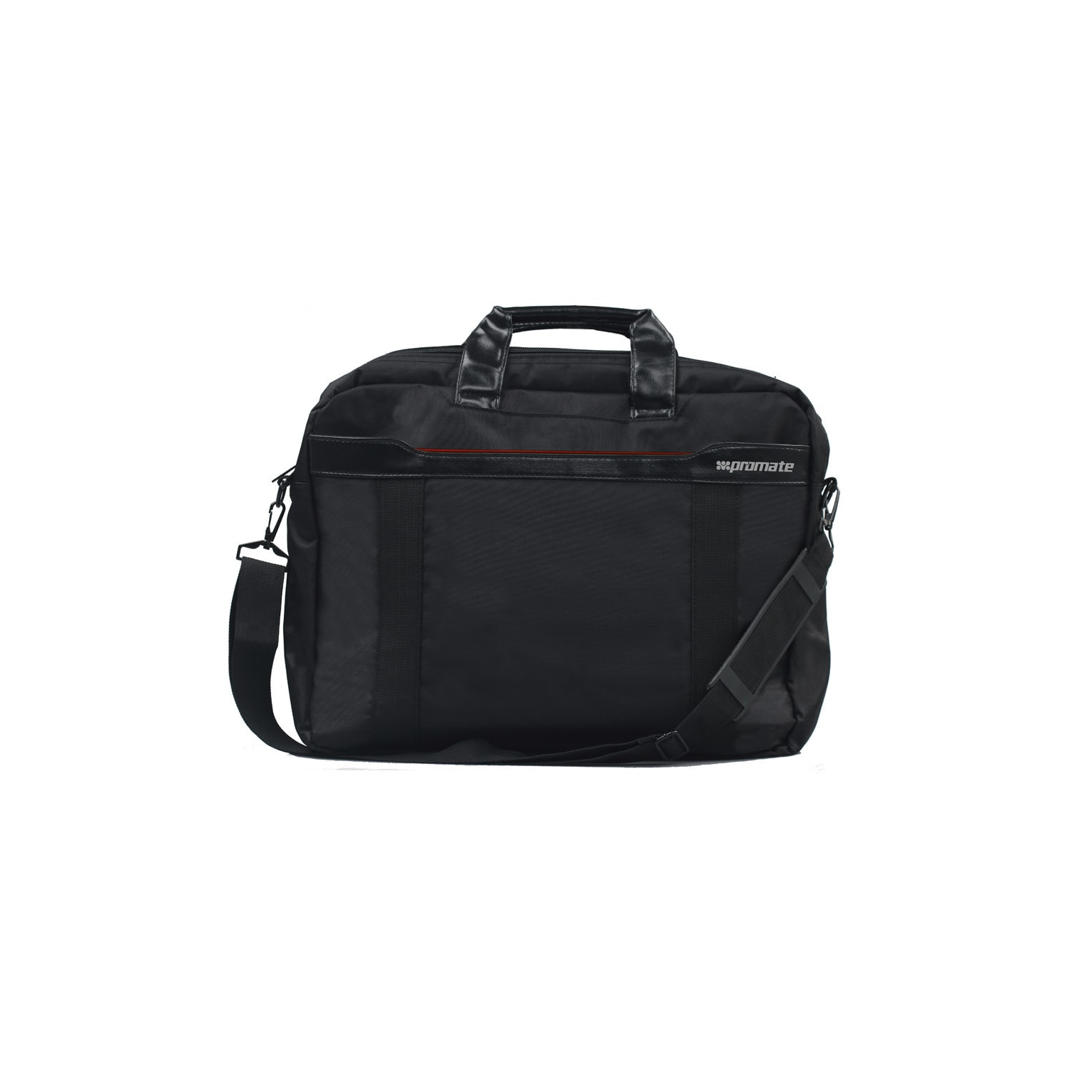 0db7544ea9 Promate  Solo  Lightweight Messenger Bag With Front Storage Option For Laptops  Up To 15.6
