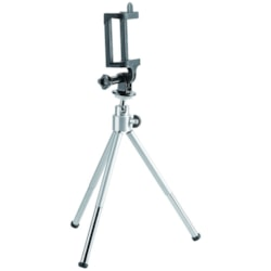 Brateck Mini Tripod For Digital Camera And Phones With GoPro Adapter And Smartphone Holder