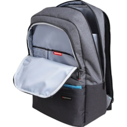Promate Ascented-BP 15.6' Laptop Backpack With Multiple Pockets - Gery