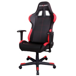 DXRacer F Series Gaming Chair, Sparco Style - Black & Red