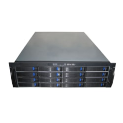 TGC Rack Mountable Server Chassis 3U 16-Bay Mini-SAS Hot-Swap Rack Mountable Server Chassis - No Psu