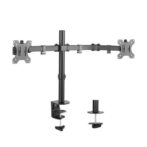 Brateck Economy Dual Monitor Steel Monitor Arm 13''-32''