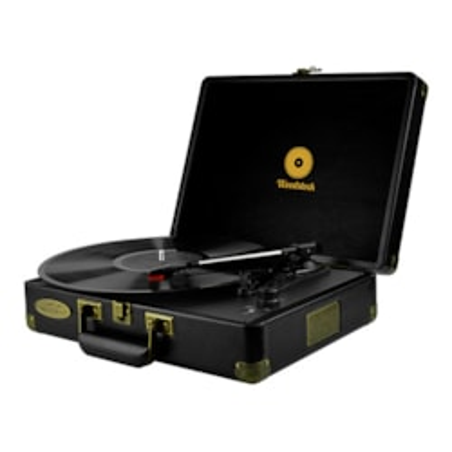 Mbeat® Woodstock Retro Turntable Player – Black
