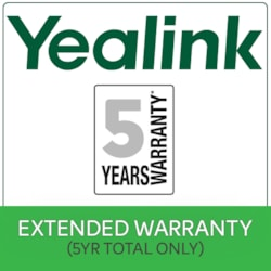 Yealink 5 Years Extended Return To Base (RTB) Yealink Warranty $50 Value