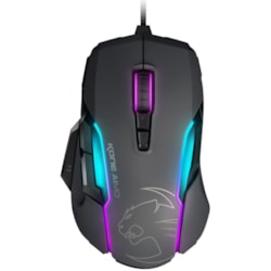 Roccat Kone Aimo Rgba Smart Customization Gaming Mouse (Grey Version)